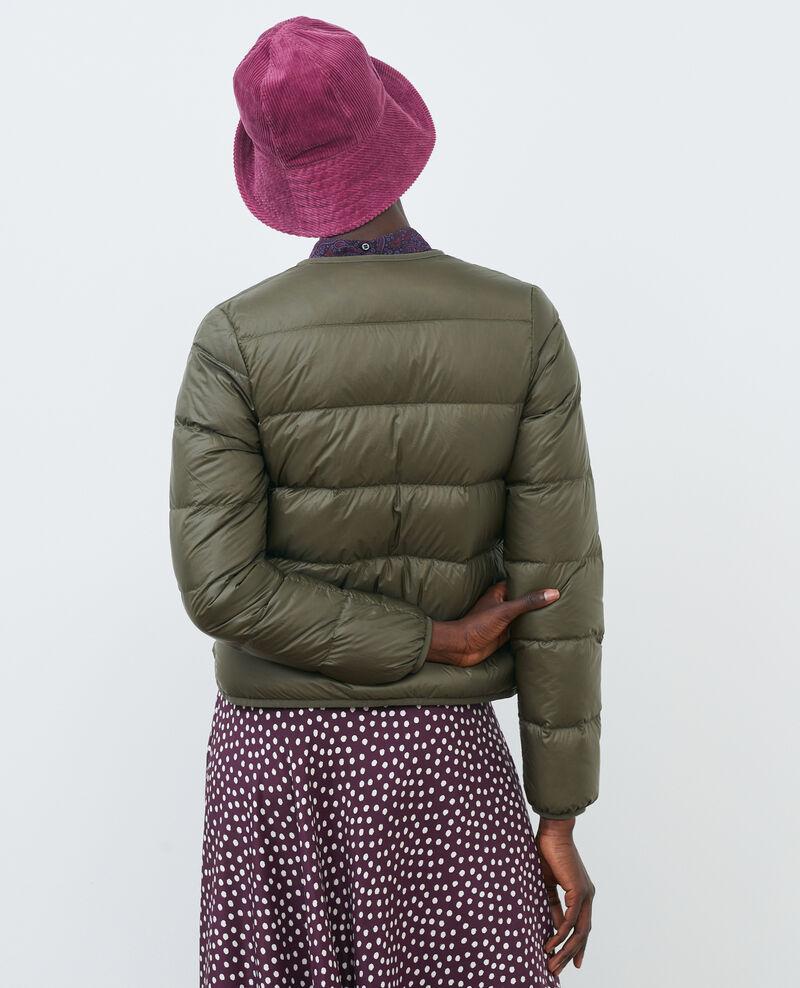 PLUME - Featherweight down jacket Dark olive Puff