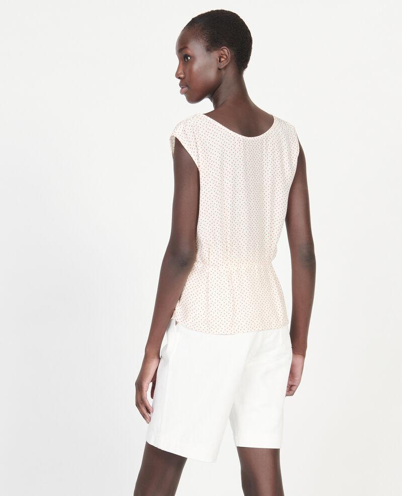 Silk blouse Memphis buttercream Lafox