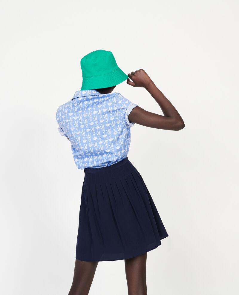 Loose skirt Maritime blue Logrian