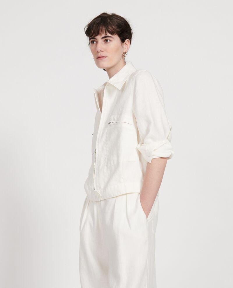 Linen jacket Gardenia Loubajac