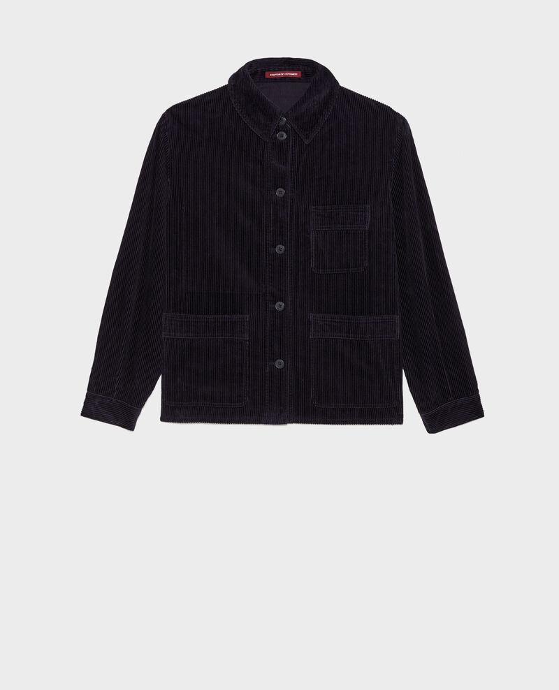 Corduroy work jacket Night sky Malipine