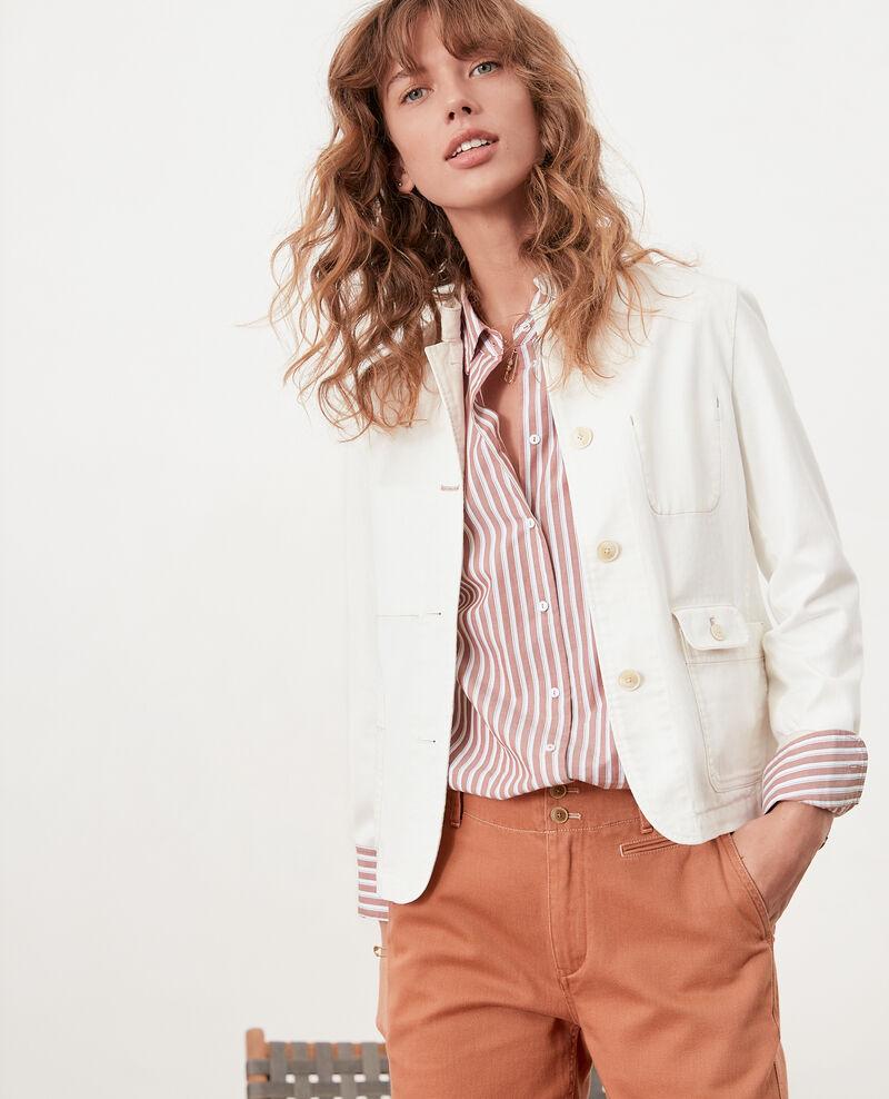Striped oversize shirt Auburn stripes Fregate
