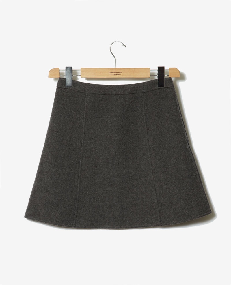 Mini skirt Dark heather grey Gurval