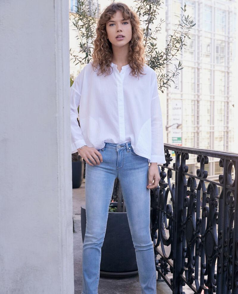 Cigarette jeans Fashion detail wash Fabuleux