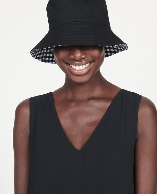 Bucket hat BLACK VICHY BLACK