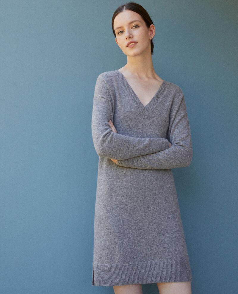 Cashmere dress Grey Gervina