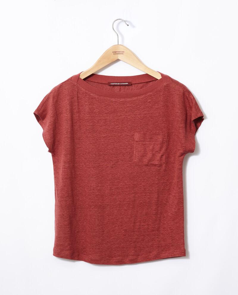 T-shirt with pocket Cowhide Granolita