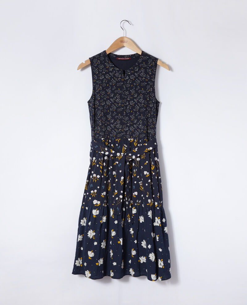 Printed dress Blue Garry