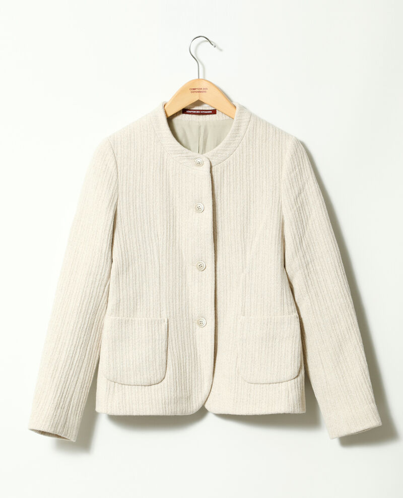 Short jacket White Gaplio