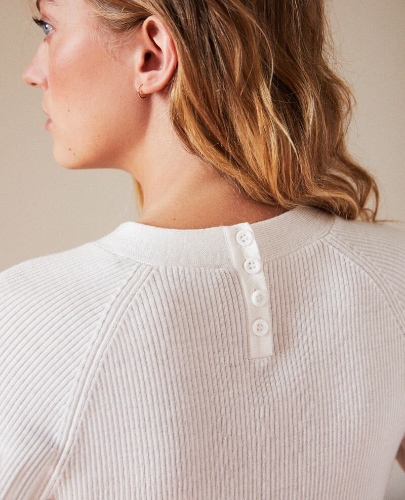 Jumper with buttons on the back Off white Jemossa