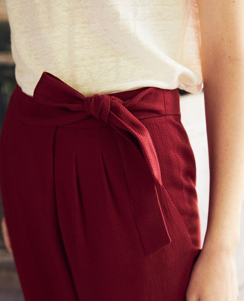 Harem-style pants  Cabernet Inoise