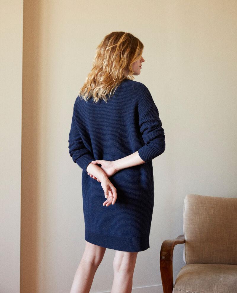 Knitted jumper dress Odyssey gray Jaslumbis