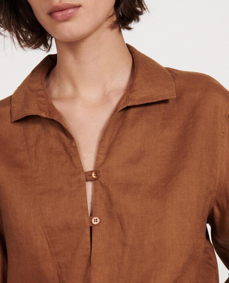 Linen blouse Monks robe Lortet