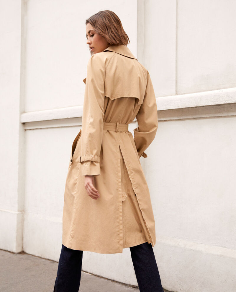 Timeless trench coat Safari beige Illary