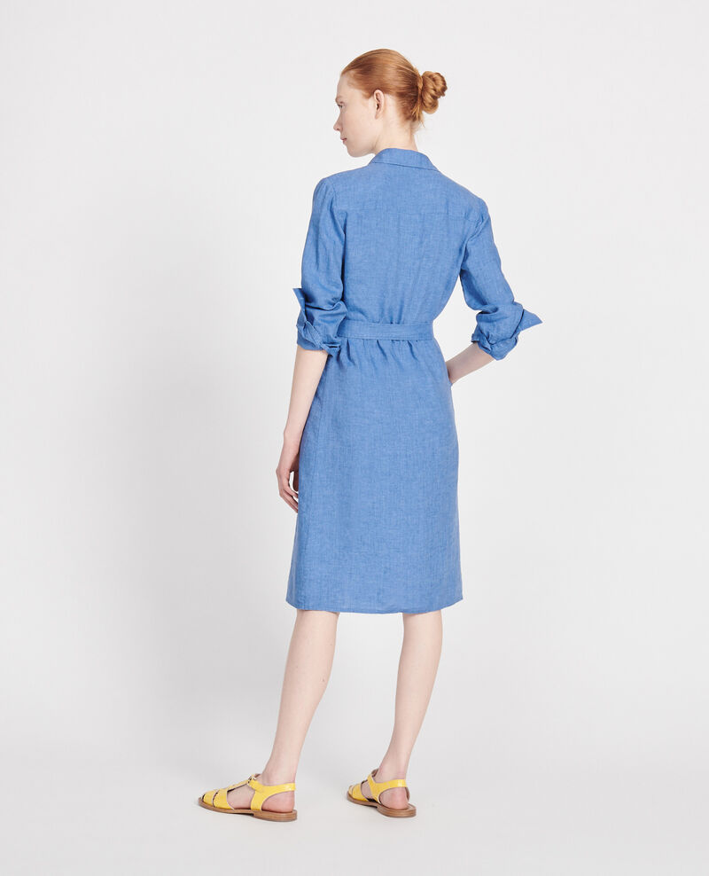 Linen dress Indigo Lesprit