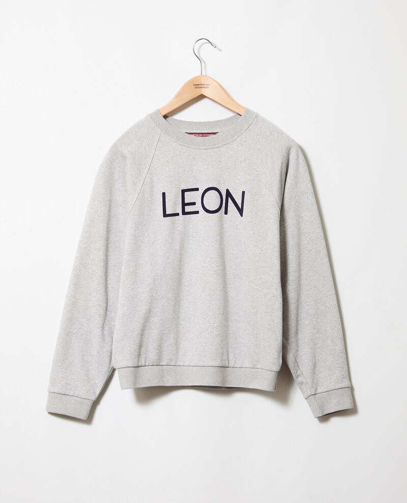 LEON sweatshirt Heather grey Jyva