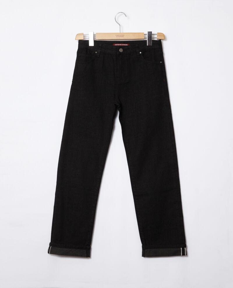 Real straight jeans Black Goberta