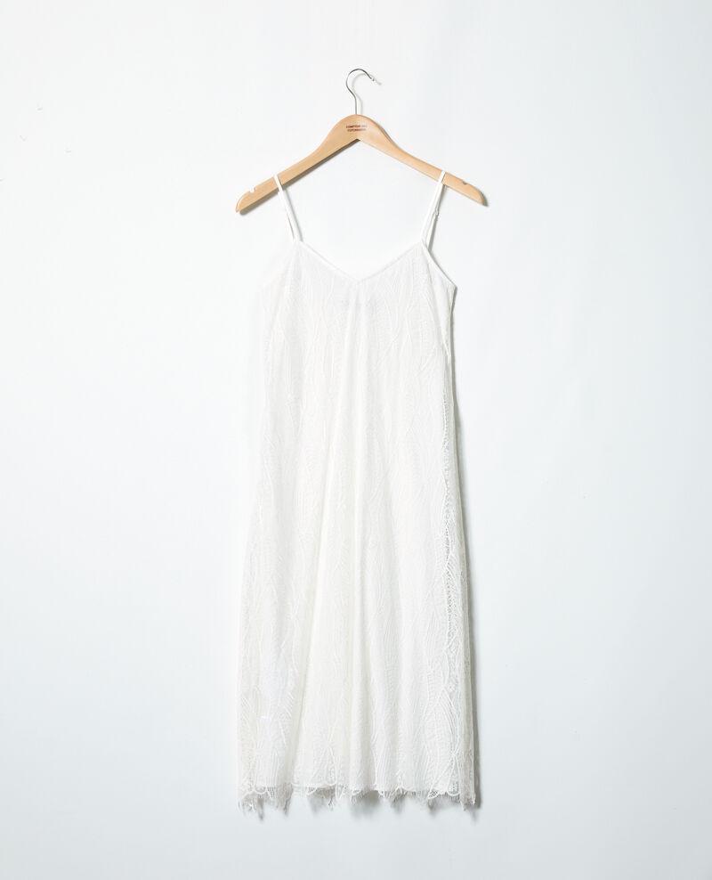Lace dress Off white Idris