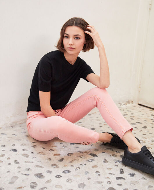 Skinny fit jeans SALMON PINK