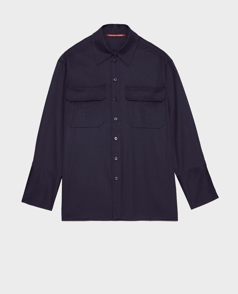 Oversize cotton men's shirt Night sky Mauryl