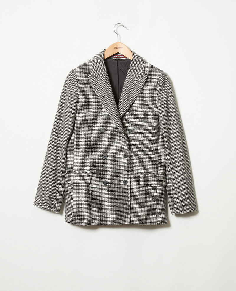 Houndstooth tailored jacket Houndtooth Jitam