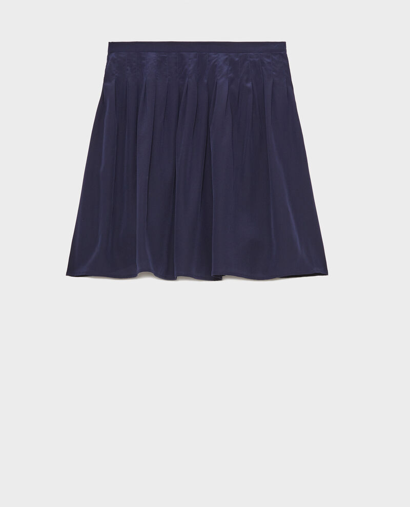 Loose skirt Maritime blue Logrian