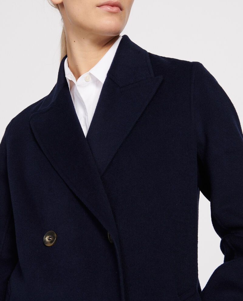 Long coat Maritime blue Linard