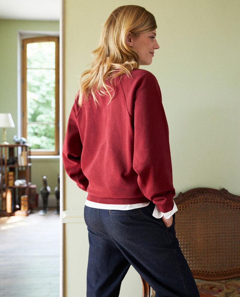 LEON sweatshirt Cabernet Jyva