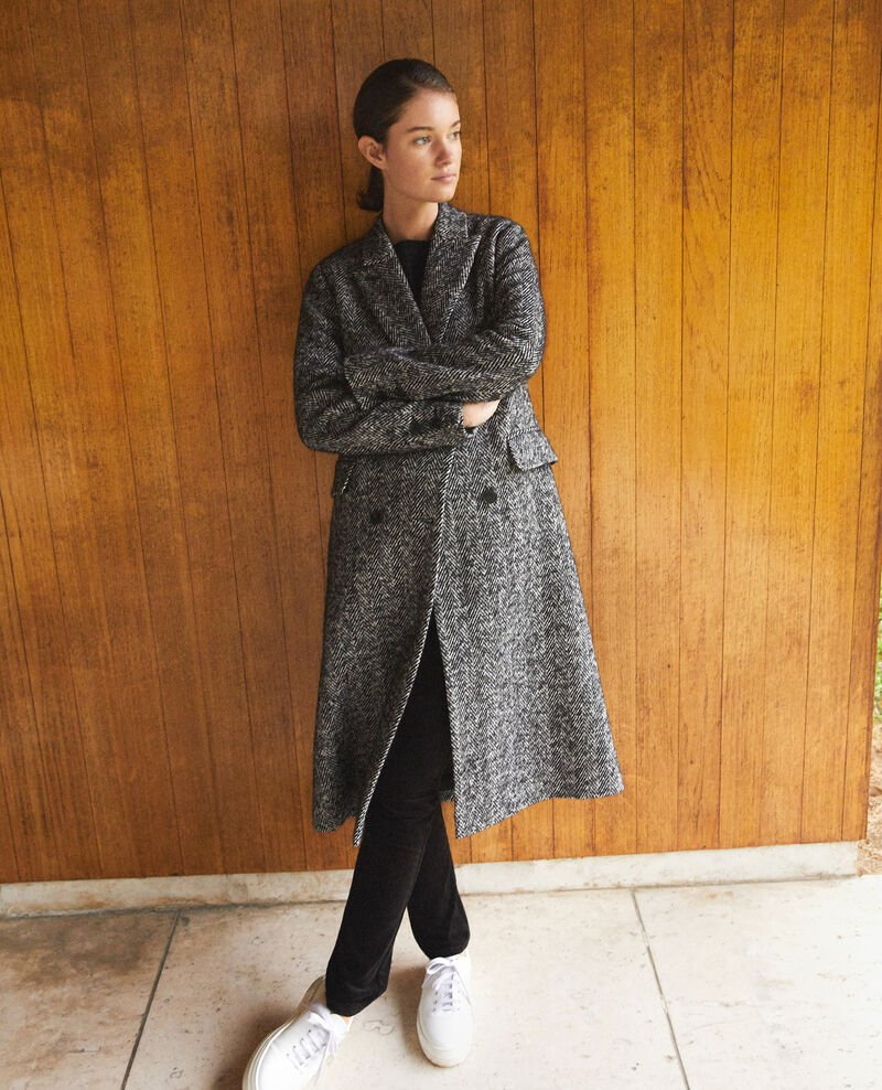 Timeless tailored coat Black Gurguy