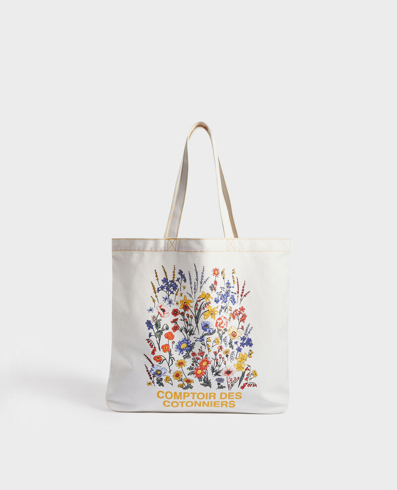 Printed canvas bag Gold fusion Mairie