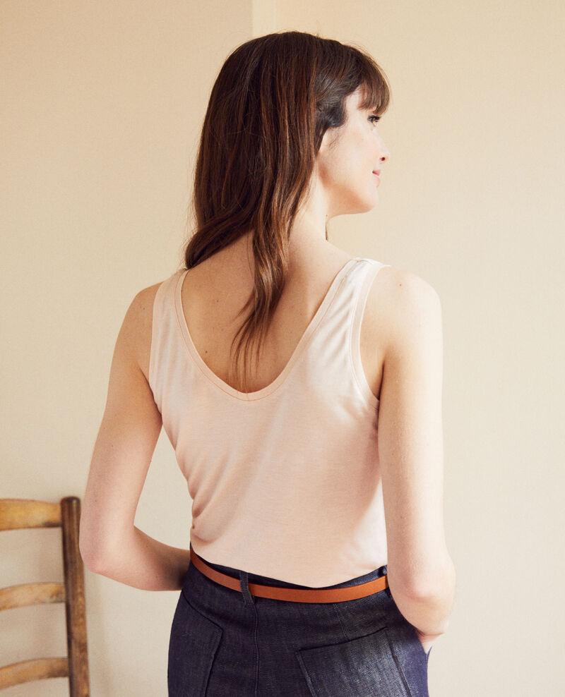 Classic vest Light pink Ioga