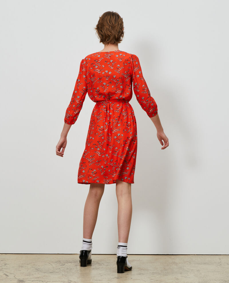 Loose silk dress Coronille spicy Novis