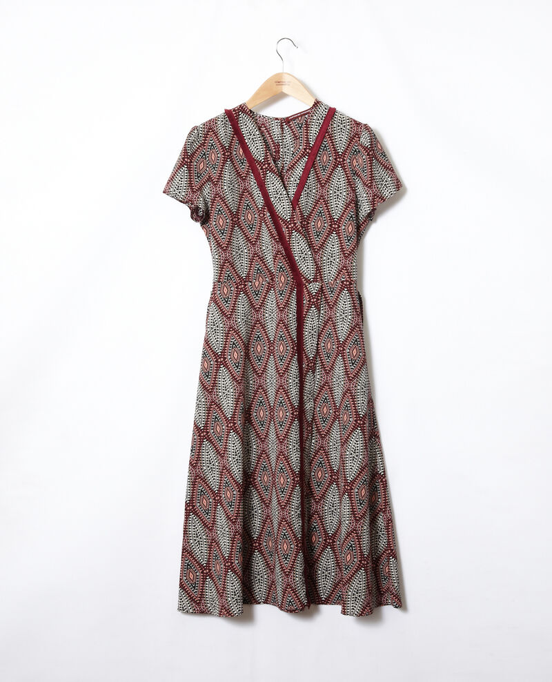 Printed maxi dress Brown Fhloe