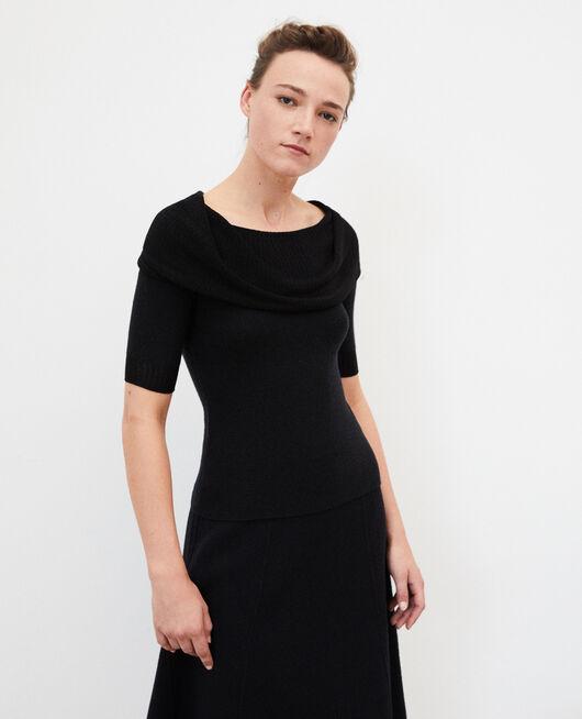 Wholegarment jumper  Black