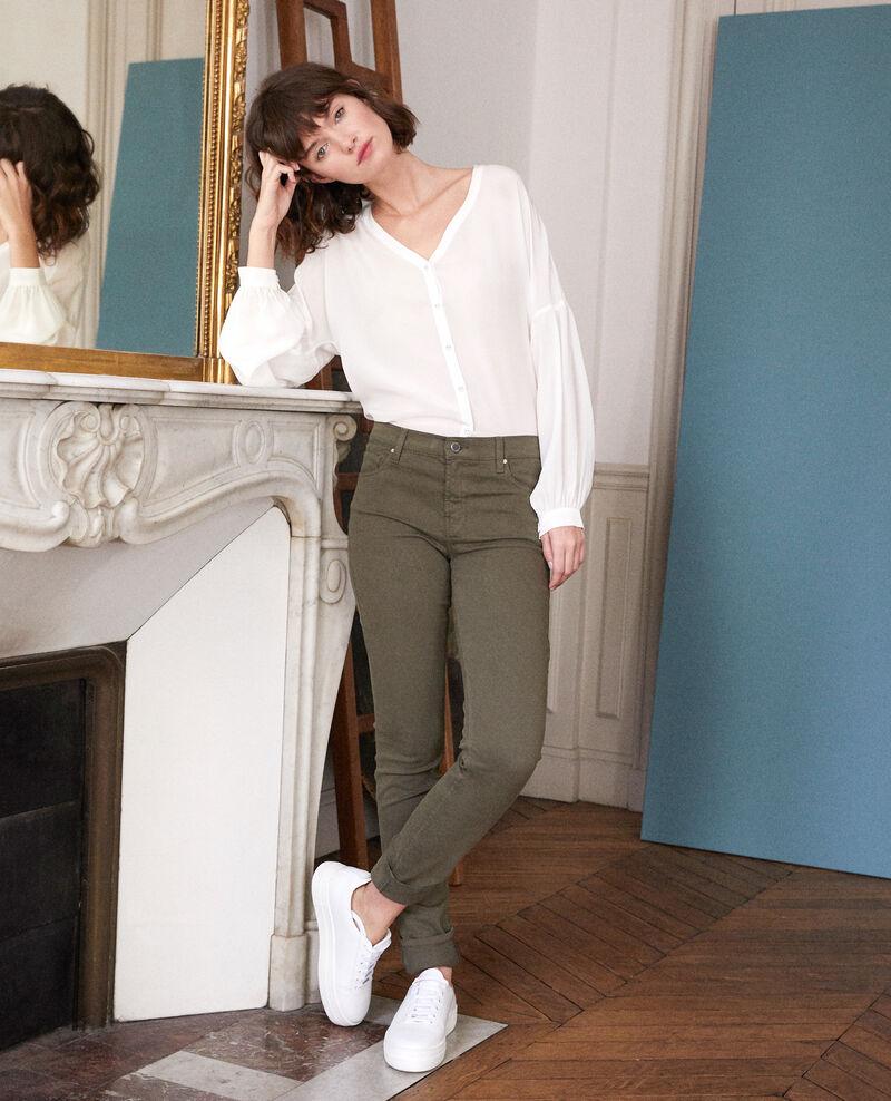 Slim fit jeans Olive night Goneto