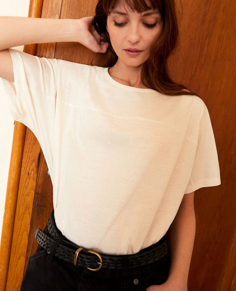 Cotton T-shirt Off white Jokari
