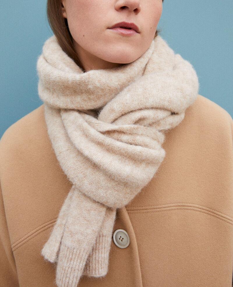 Fluffy scarf Silver gray Guli