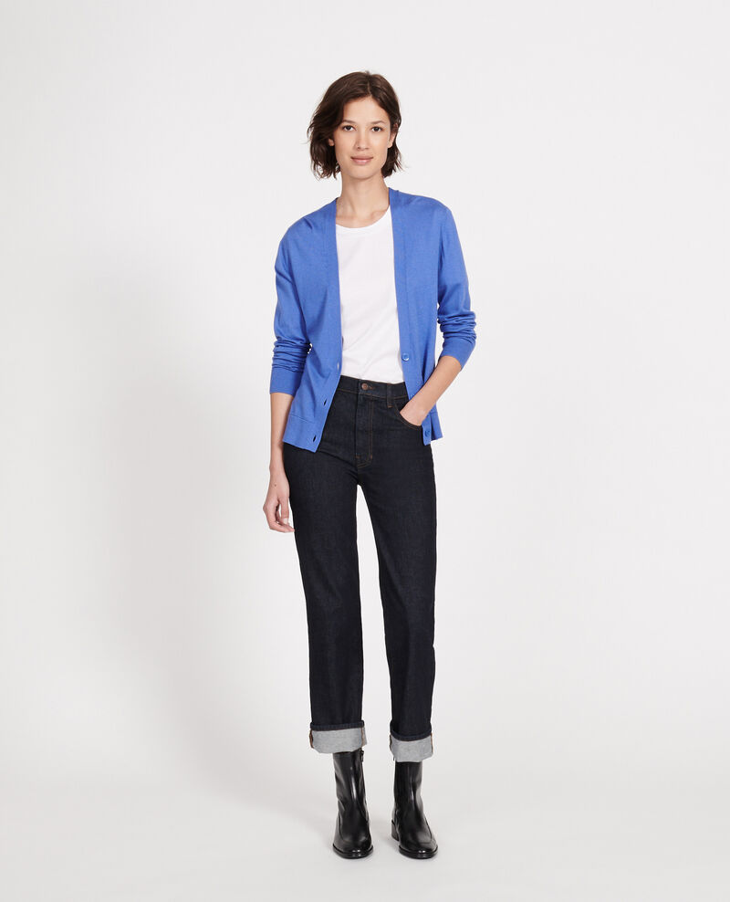 Cardigan Amparo blue Loussous