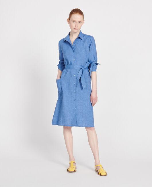 Linen dress INDIGO