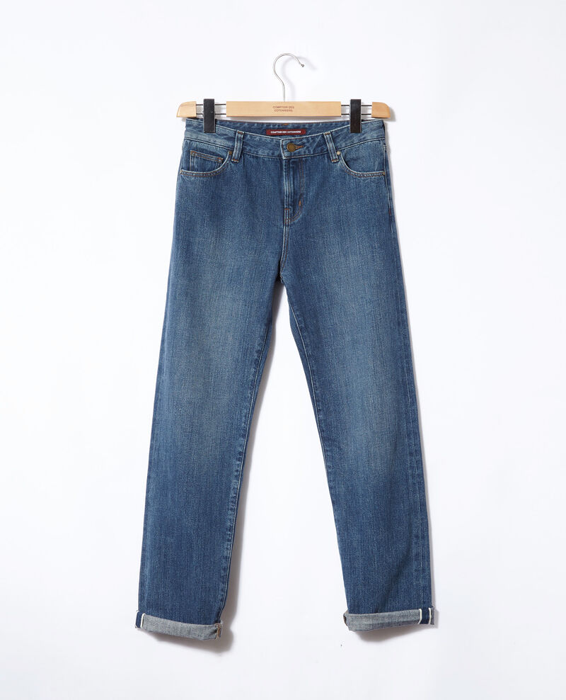 Real straight jeans Blue Ganon