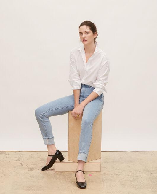 Vintage wash slim jeans DENIM VINTAGE WASH