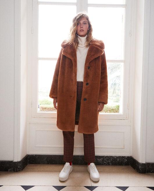 Synthetic fur coat LION