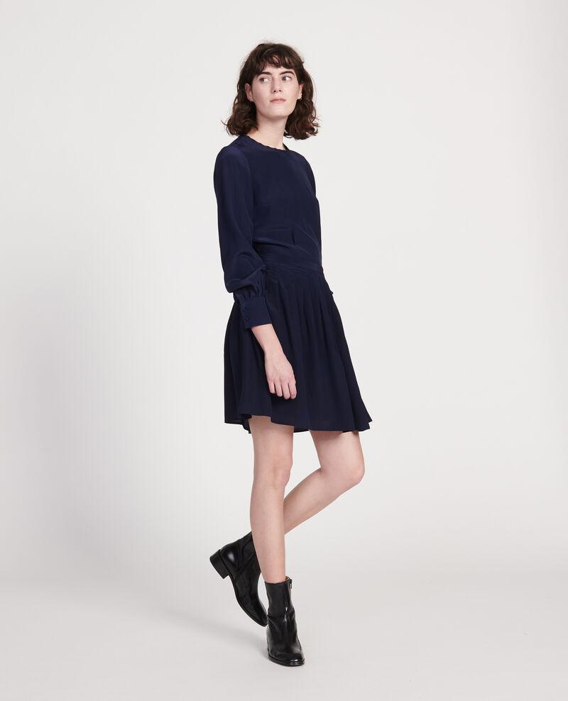 Embroidered blouse Maritime blue Lolape