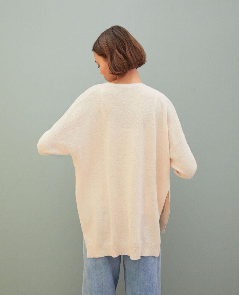 Oversize cardigan Natural beige Ilubi