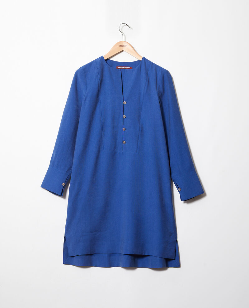 Henley dress Imperial blue Ioca