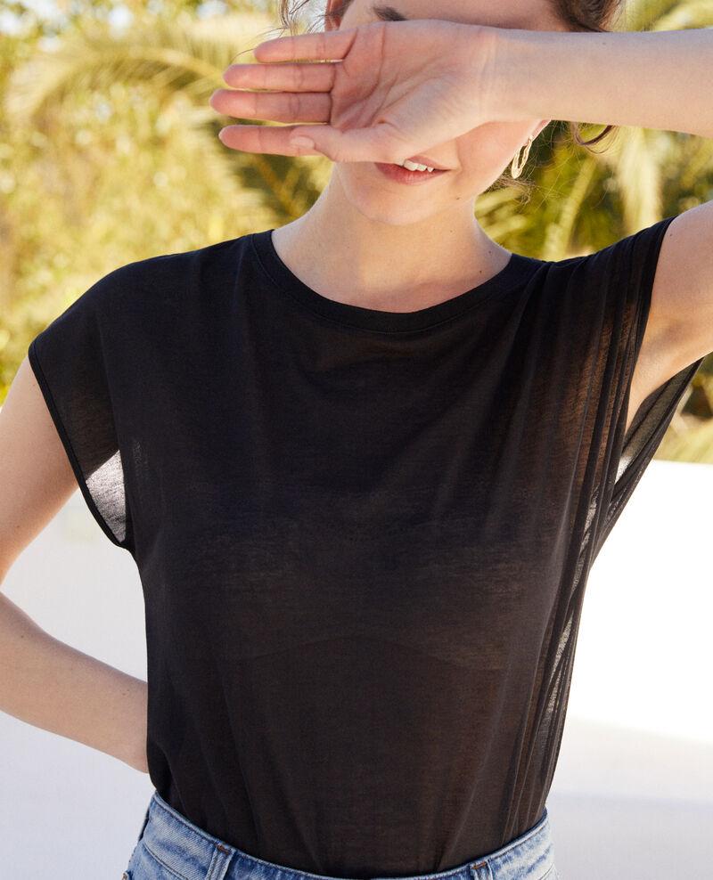 Classic t-shirt Noir Idele