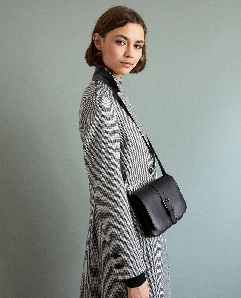 Leather bag Noir Isace