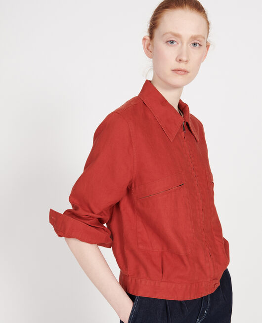 Linen jacket KETCHUP