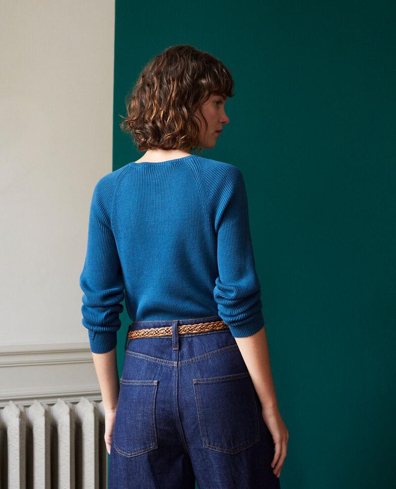 Cotton cardigan Blue Genie