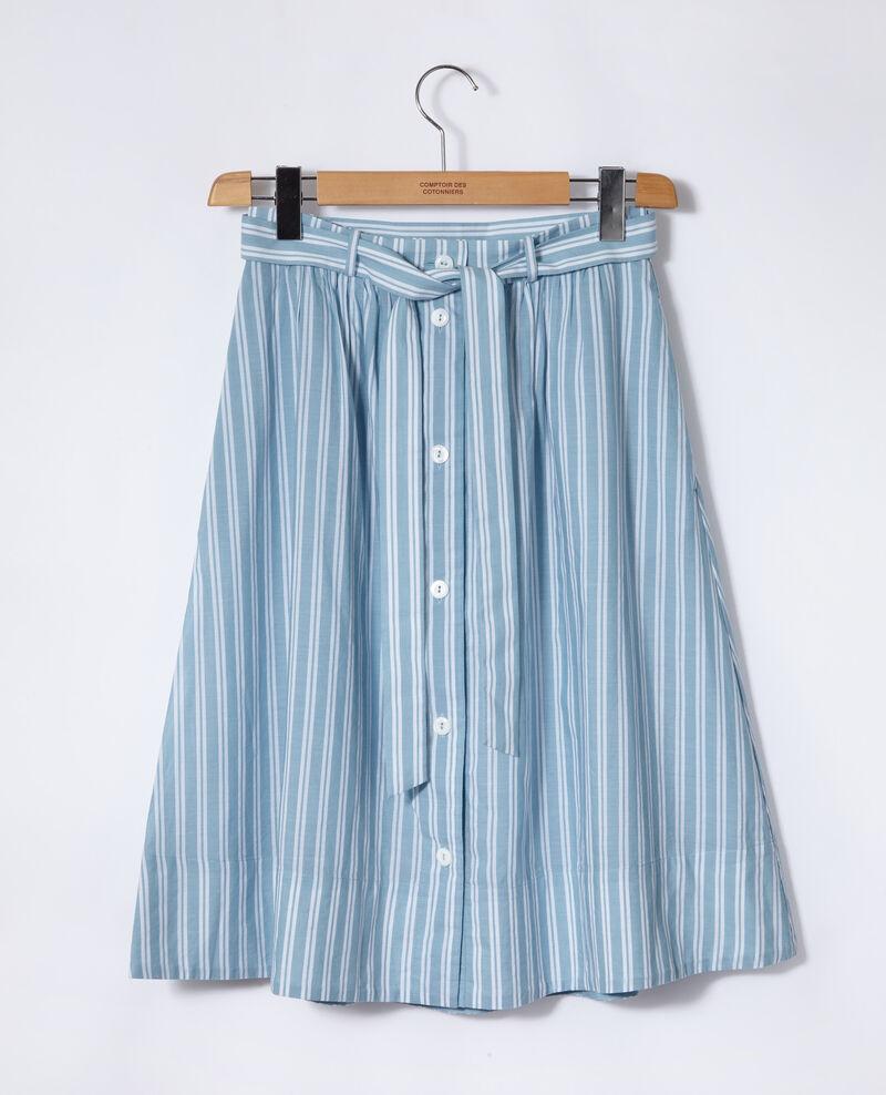 Belted skirt Blue Gareth